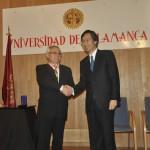 El profesor Antonio López Santos recibe la Orden del Sol Naciente