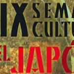 XIX Semana Cultural del Japón. Del 18 al 22 de marzo