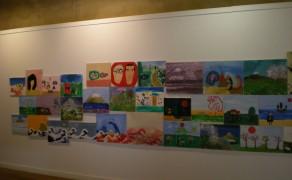 Exposición de pintura infantil. El taller mira a Japón (junio 2011)