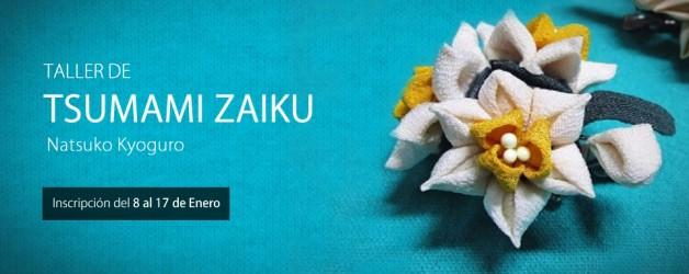 TALLER DE TSUMAMI ZAIKU – NATSUKO KYOGURO.