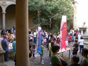 El taller mira a Japón. Exposición de pintura infantil