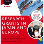 CANON FOUNDATION – Research Fellowships to highly qualified European and Japanese researchers: