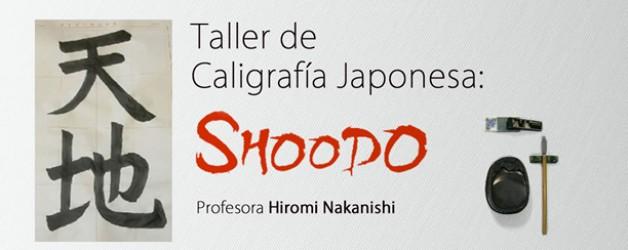 Taller de Caligrafía Japonesa: SHODOO –  Profª. Hiromi Nakanishi
