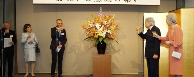 Los emperadores de Japón homenajean a la Universidad de Salamanca por sus 800 años