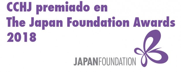 CCHJ premiado en The Japan Foundation Awards 2018